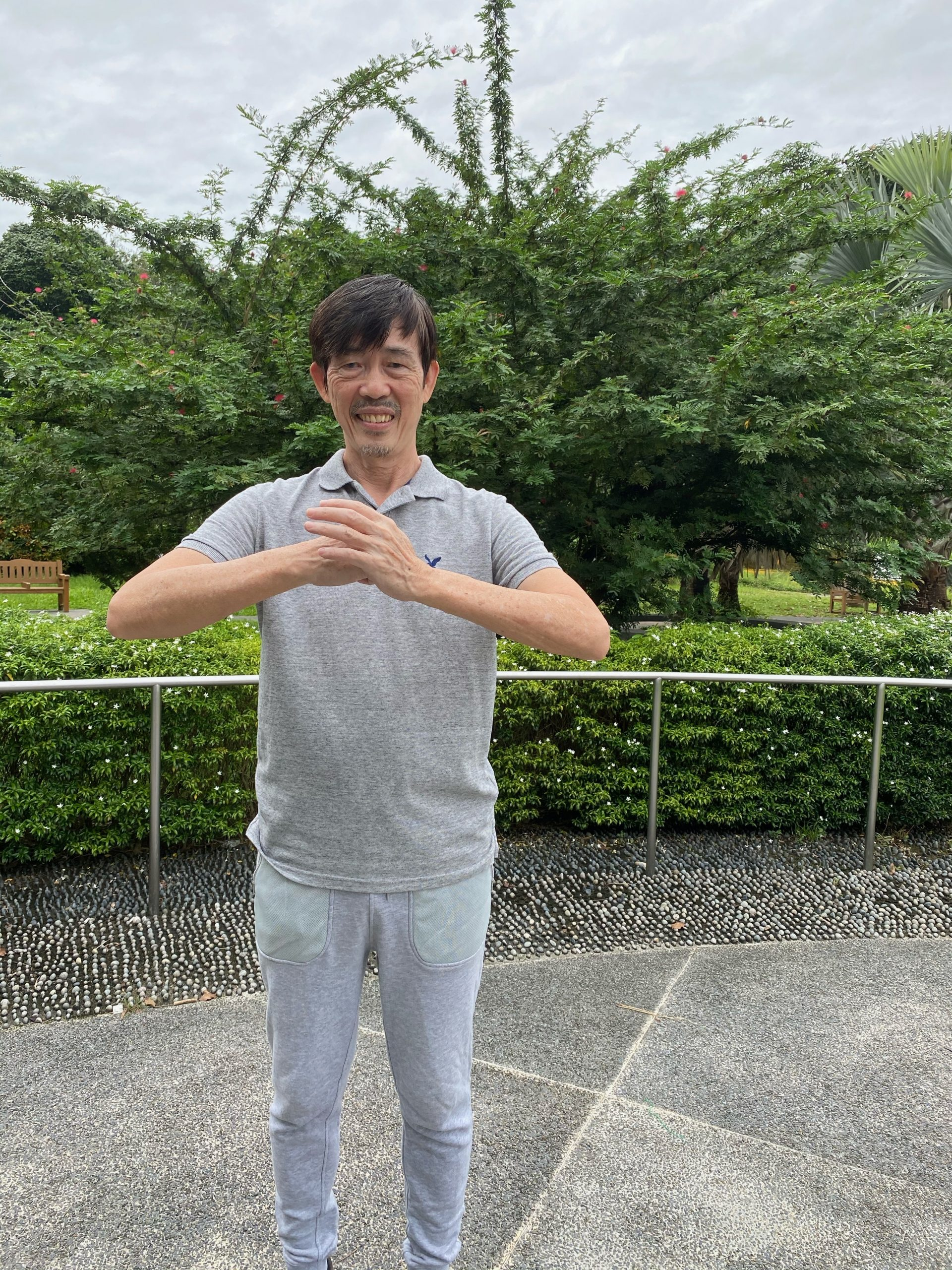 Tekson Coaches Qigong Exercises