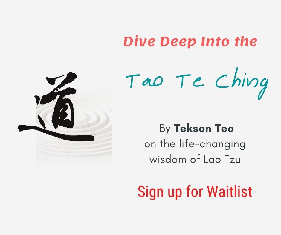 Dive deep into the Tao Te Ching